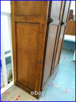 1930s Antique French School Lockers in Oak. Vintage/Retro/Hallway
