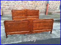 28313 OLD FRENCH LOUIS PHILIPPE Super KING SIZE BED cherry wood