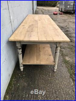 310cm Long, Antique French Drapers Table, Vintage, Original, Bakers Shop Display