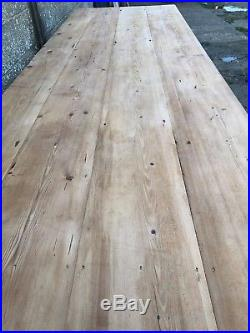 3.1m Long, French Antique Table, Kitchen Island, Vintage