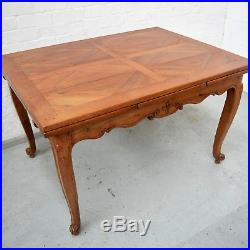6 Seater Antique French Country Louis Rustic Chestnut Farmhouse Dining Table
