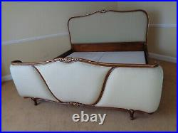 A Fabulous Emperor Size French Bed / Louis Antique Style