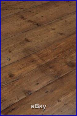 A Large French Farmhouse Pine Kitchen Table 200cm Long