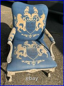 A Pair of French Style Andrew Martin Armchairs