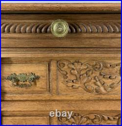 Amazing French Antique Chest of Drawers / Sideboard