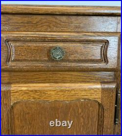Amazing Pair French Bedside Tables Cupboards Cabinets Louis XVI