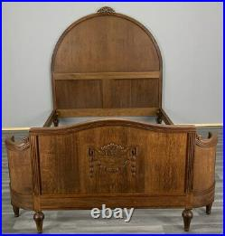 Amazing Rare Carved French Antique Double BED