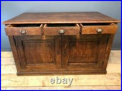 Antique French 19th century Shop Counter