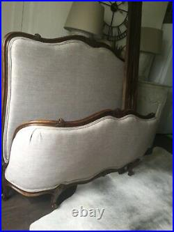 Antique French Bed (Double) courier available. PRICE REDUCED