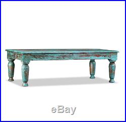 Antique French Coffee Table Shabby Chic Furniture Solid Reclaimed Rustic Wood
