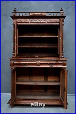 Antique French Henri style Renaissance buffet / cabinet / dresser
