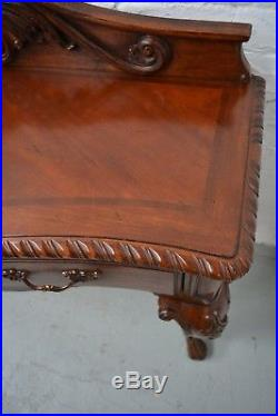 Antique French Style Sideboard / Console Table in Mahogany