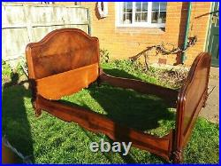 Antique Victorian French Rosewood bed