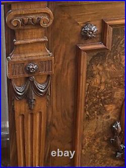 Antique Walnut French Dresser Exceptional Quality