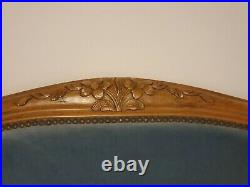 Antique french bed frame