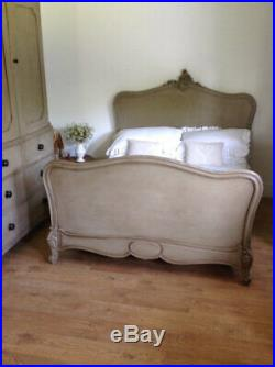 Antique french rococo bed