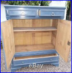 Antique sideboard, Parisienne french buffet, painted oak, kitchen, living-room