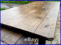 Antique / vintage French Dining Farmhouse / Kitchen Table