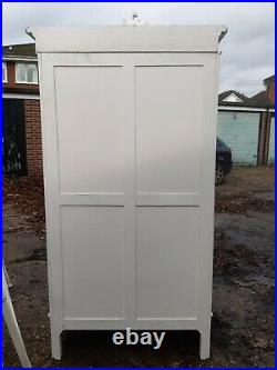 Antique white French Louis Philippe Armoire by Mad dogs and English men interior