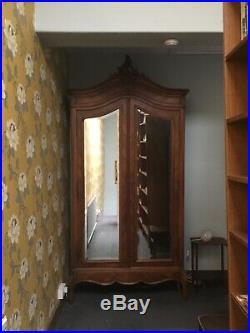 Beautiful Antique French Armoire/Wardrobe/Linen Press