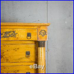 Beautiful Antique French Chest Of Drawers/ Tallboy, Vintage