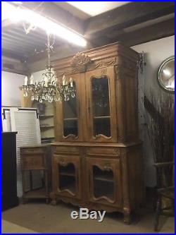 Beautiful Antique Walnut French Armoire/ Linen Cupboard Free Delivery