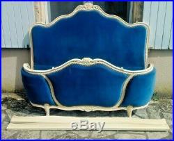Beautiful French Demi Corbeille Bed, Regent Headboard