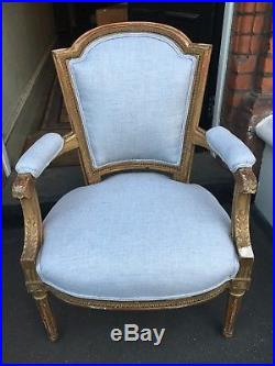 Beautiful French Sofa, Real Antique, 3seat Sofa With 2 Armchairs
