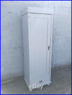Beautiful, Single Door, French, Antique, Vintage Country Cupboard, Larder
