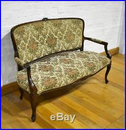 Beautiful antique style French sofa settle settee