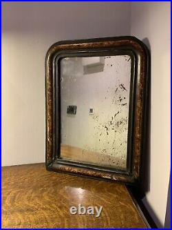 Early 20th Century French Mirror Foxed Glass