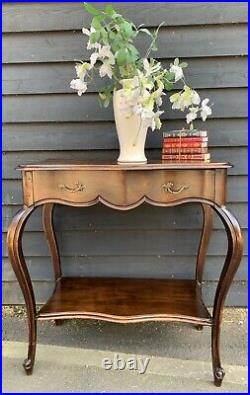 Elegant Early 19th Century Provincial French Walnut Console Table