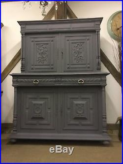 Exquisite Carved French Oak Buffet Dresser Free Delivery