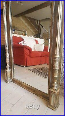 Extra Large French Antique Mirror