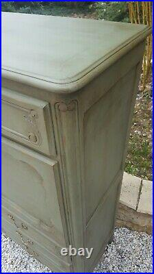 French Antique Secretaire/desk And Drawers