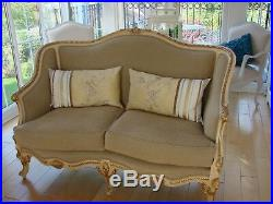 French Antique Style Sofa's