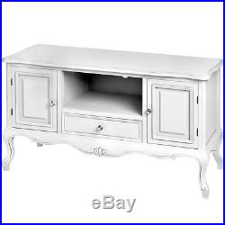 French Country Shabby Chic TV Unit Cabinet Stand Table Vintage Antique Furniture