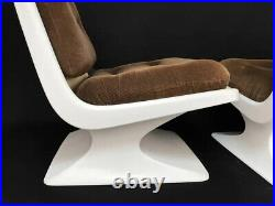 French Design Lounge Chair by Albert Jacob Grosfillex Space Age, 1970s
