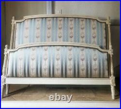 French Double Bed, Antique Louis XVI Style Bed from Chateau De La Comtiere