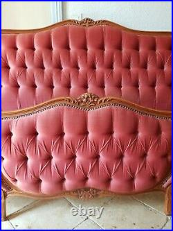 French Double Bed, Corbeille Louis XV Style Bed