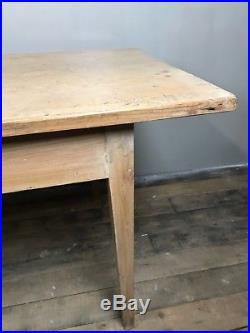 French Fruitwood & Pine Farmhouse Dining Table