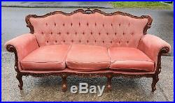 French Louis Style Rococo 3 Seater Sofa / Settee Delivery Available