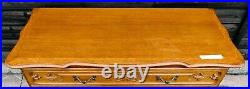 French Louis XV Style Carved Oak Chest Of 3 Drawers! (somkcs1)
