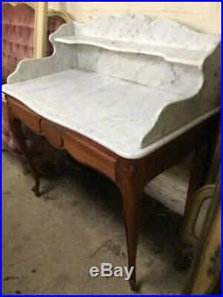 French Marbled top Wash stand, VGC
