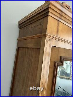 French Period Mirror Armoire Lovely Example