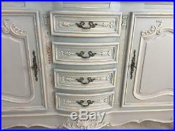 French Sideboard / Marble top Sideboard / Vintage Sideboard