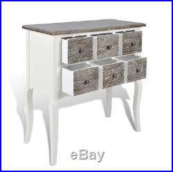 French Style Chest Drawers White Antique Furniture Shabby Chic Small Sideboard