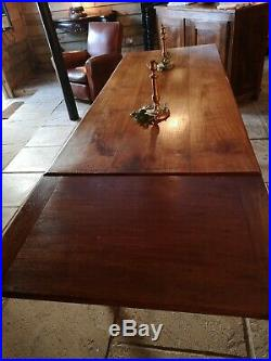 French Vintage Farmhouse Dining Table