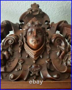 French Wardrobe, Henri II Renaissance Style Bonnetiere RARE