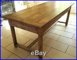 French antique farmhouse dining table